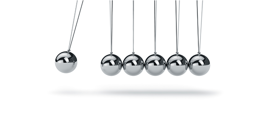 the newton�s cradle of communications